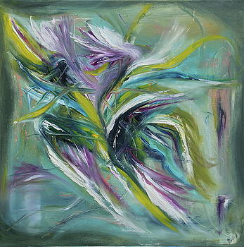 Floral Energy by David King Johnson
