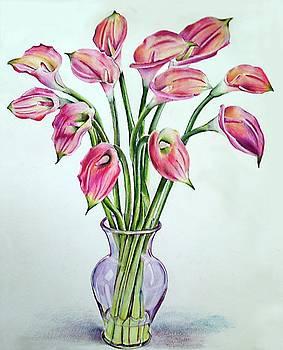Floral Fireworks by Barbara Goodsitt