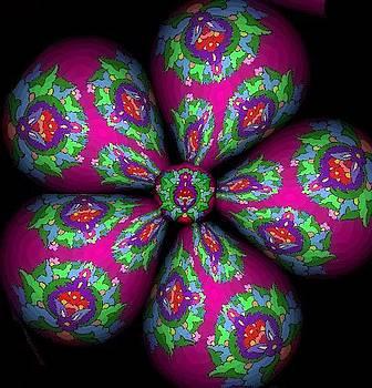 Floral Globe by Mehdi Mehrvarz