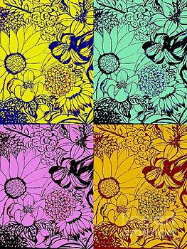 Floral Graphic 1 by Sandra Lett