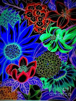 Floral Graphic 3 by Sandra Lett