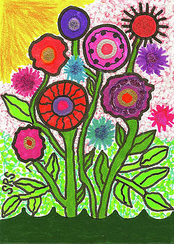 Floral Majesty by Susan Schanerman