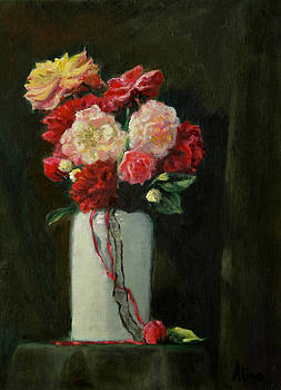 Floral  No. 2 Roses by Aline Lotter