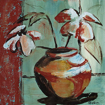 Floral Still Life II by Sharon Sieben