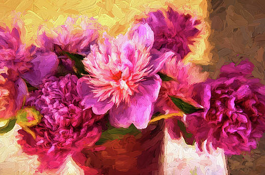 Floral Still Life by Kirk Sewell