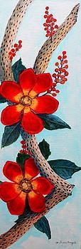 Floral Still Life by M Diane Bonaparte