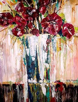 Floral Study by Lelia DeMello