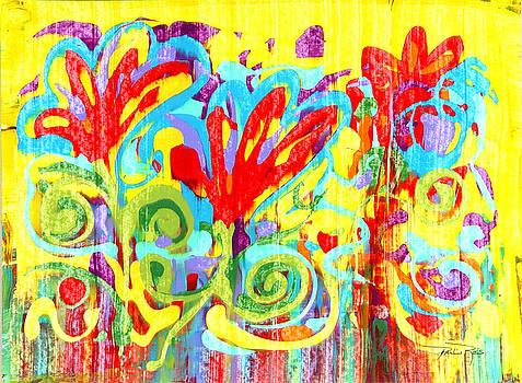 Pauline Ross - Floral Swirls