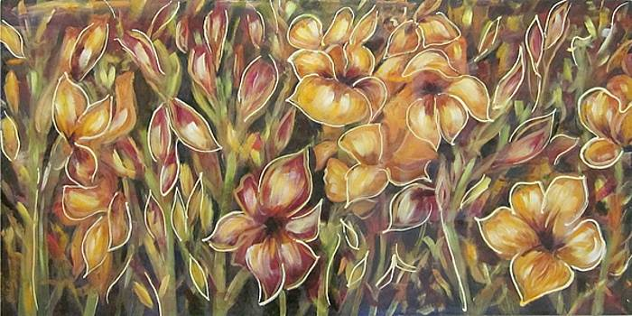 Floral Tapestry by Elaine Balsley