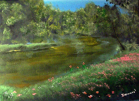 Florals By the Lake by Raymond Doward