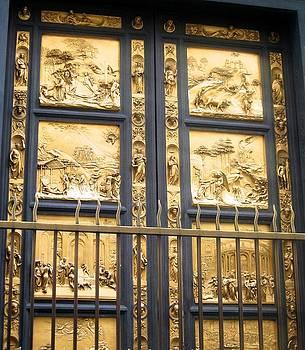 Florence Baptistry Doors by Lisa Boyd