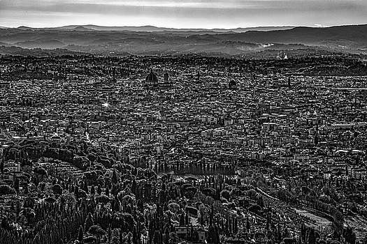 Florence from Fiesole by Sonny Marcyan