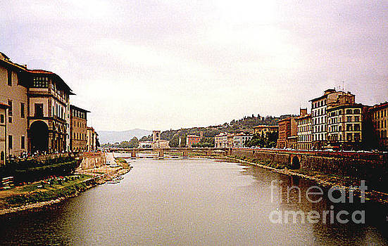 Florence, Italy - Living Along the Arno River by Merton Allen