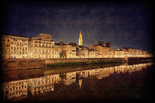Florence Night Scene by Terri Roncone