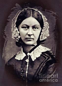 Florence Nightingale 1860 by Ian Gledhill