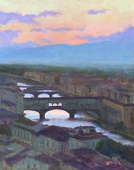 Florence Sunset by Michael Gillespie