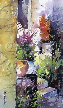Florentine Entry by Rae Andrews