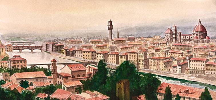 Frank SantAgata - Florentine Panorama