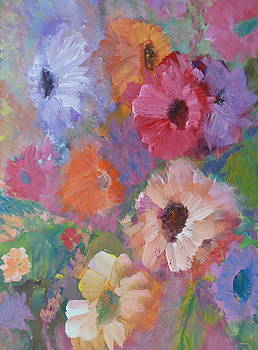 Flores 1 by Valle Rubio