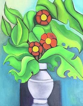 Flores de la vida  by Adriana Sharpe