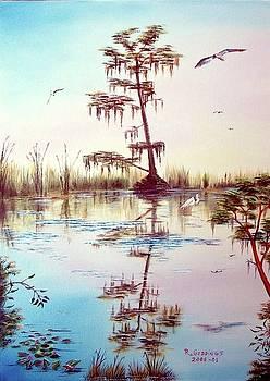Florida Everglades Study # 1 by Riley Geddings