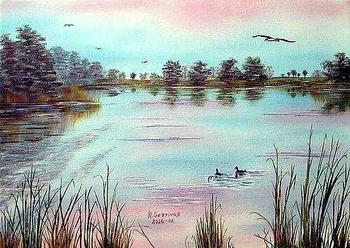 Florida Everglades Study # 2 - Eco Pond by Riley Geddings
