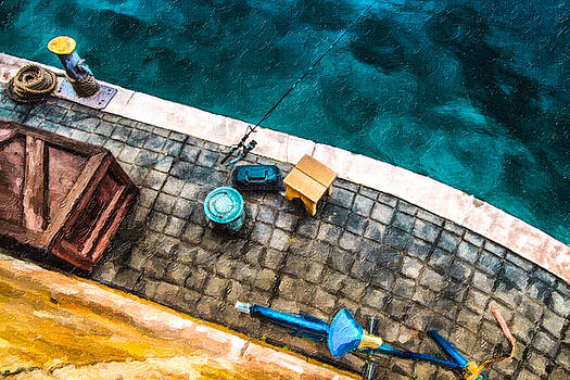Florida - Fishing by Russell Mancuso