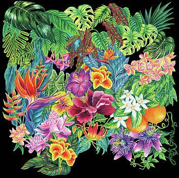 Florida Garden by Janis Grau