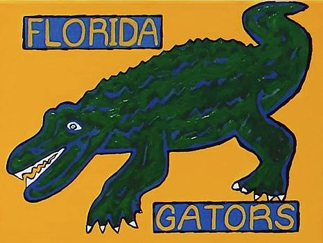 Florida Gators by Jonathon Hansen