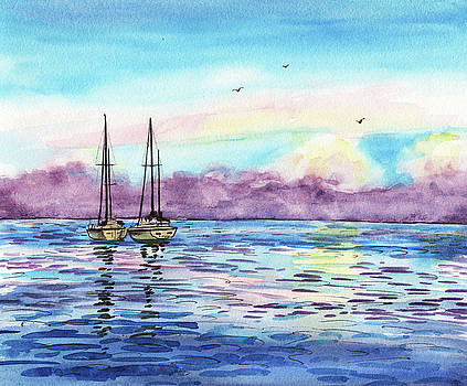 Florida Keys Islamorada Shore by Irina Sztukowski