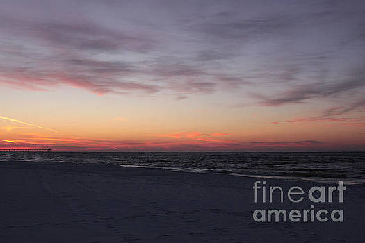 Florida Panhandle Sunrise by Robin Maria Pedrero