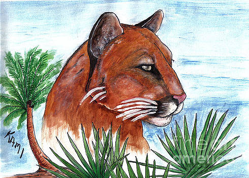 Florida Panther 2 by Kami Catherman