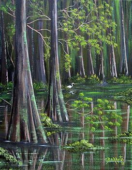 Florida River by Gloria E Barreto-Rodriguez