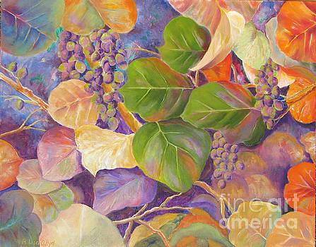 Florida Sea Grape Tree by Lisa Boyd