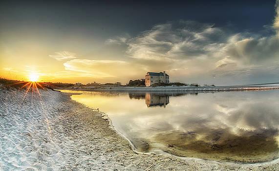 Florida Sunrise - Stillness by Cathy Neth