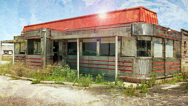 Flo's Roadside Diner by John Remy