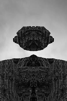 David Gordon - Floating Head I BW