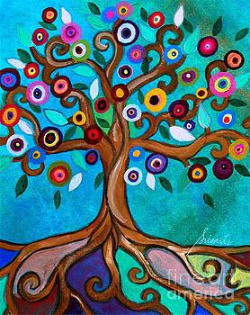 PRISTINE CARTERA TURKUS - FLOURISHING TREE