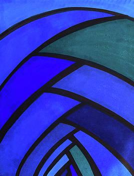 Flow, Blue by Megan Howard