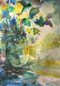 Flower and Vase Stilllife  by Robin Miller-Bookhout