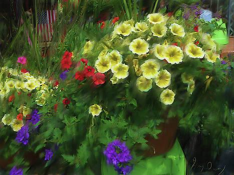 Flower Basket by Harry Dusenberg