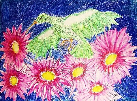 Flower Bird by Beverly Howell