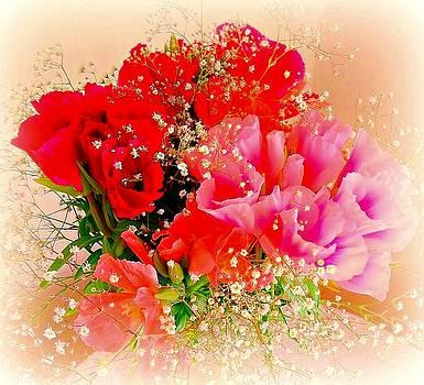 Flower Blast by Monica  Vega