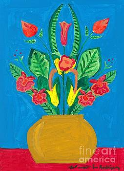 Artists With Autism Inc - Flower Bowl