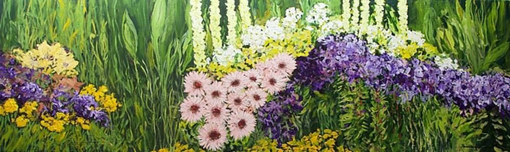 Flower Dance 6 by Allan P Friedlander