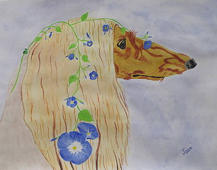 Flower Dog 10 by Hilda and Jose Garrancho
