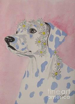 Flower Dog 2 by Hilda and Jose Garrancho