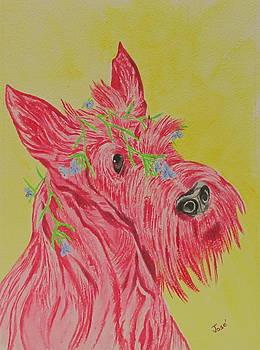 Flower Dog 6 by Hilda and Jose Garrancho