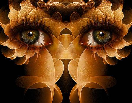 Flower Face by Bear Welch
