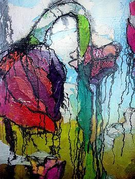 Flower Field Detail by Lizzie  Johnson